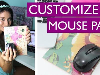 [DIY] Como fazer Mouse Pad c. Material Reciclável  - wFashionista