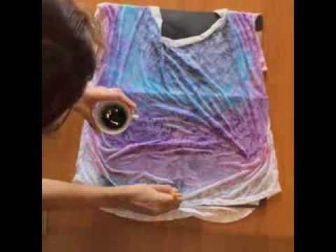 DIY faça um Tye Dye lindo na sua bata