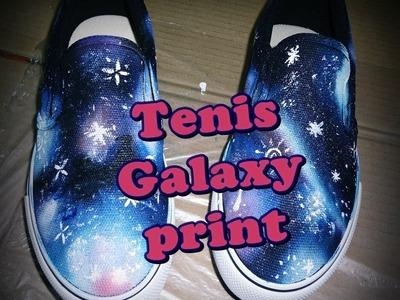 Tênis Galaxy print Por LariKoze [faça você mesmo]