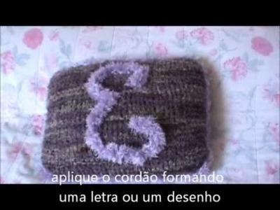 Almofadas decorativas em Tricô e Crochê