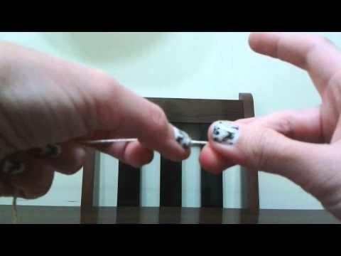 Colar de fio de croché (Muito fácil)