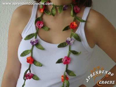 Cordão de Crochê Floral Matisse