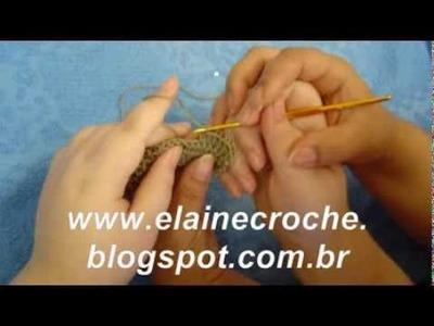 ELAINE CROCHE - O 1º E MAIOR CANAL DO YOUTUBE DEDICADO AO CROCHÊ - DESDE JULHO DE 2006