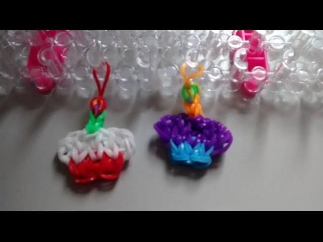 ƸӜƷ  Cupcake Rainbow Loom ƸӜƷ