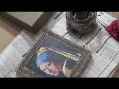 Lu Heringer - Decoupage com Rendado Metalizado - Parte 2 (final)