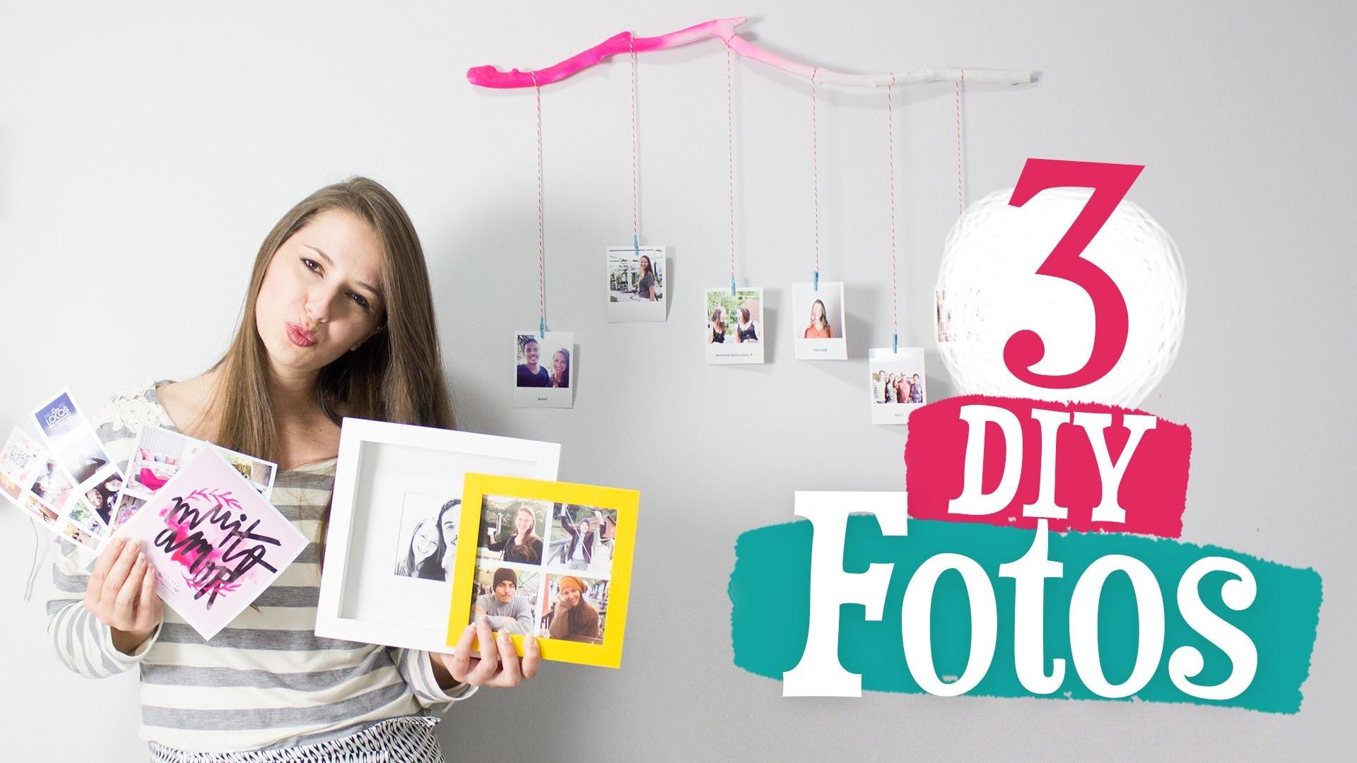 3 idéias de DIY com Fotos + Produtos INSTALOVERS