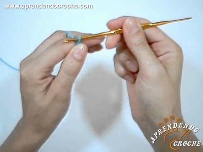Correntinha no Croche - Ponto Corrente - Tipo de Pontos no Crochê