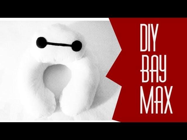 DIY.: Almofada de Pescoço Baymax (sem costura)