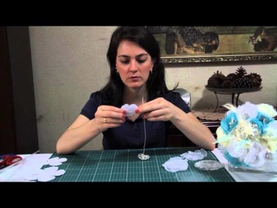 DIY - Bouquet de broches e tecidos - 3ª parte