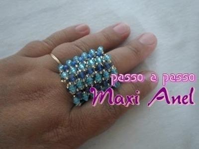 NM Bijoux - Maxi Anel - passo a passo