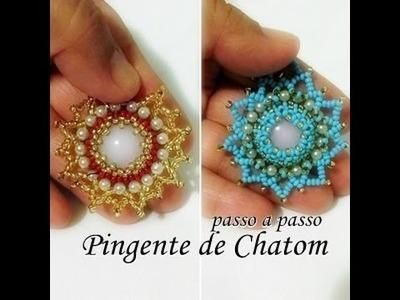 NM Bijoux - Pingente de Chaton - passo a passo