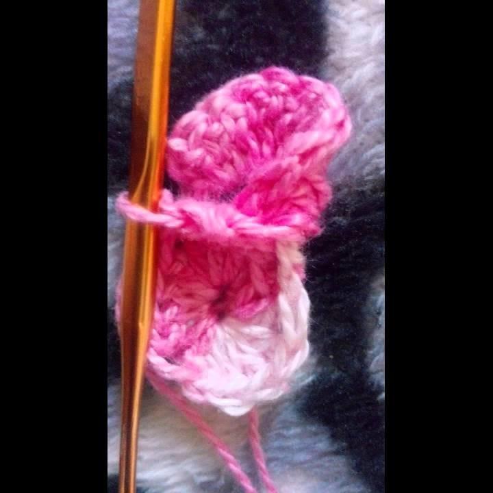 Pap flor caracol de crochê!
