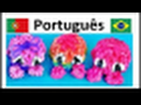 {Portugues} Rainbow Loom -