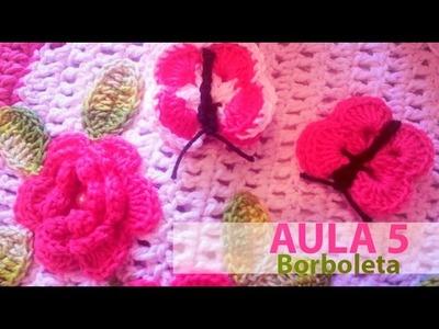 ArtSil   Aula 05   borboleta de Croche mp4