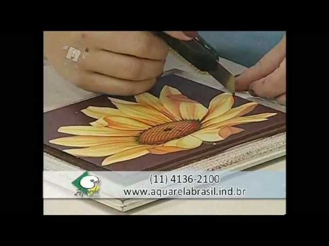 Caixa com técnica Patina e Pasta Concentrada - Artesã Marisa Magalhães
