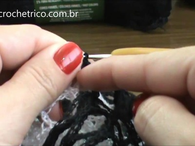 Crochê - Blusa Rede - Parte 02.07