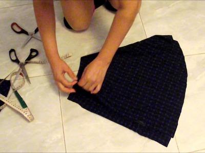Faça você mesma sua saia godê - parte 1