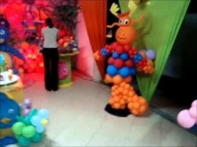 Festa infantil dos Backyardigans