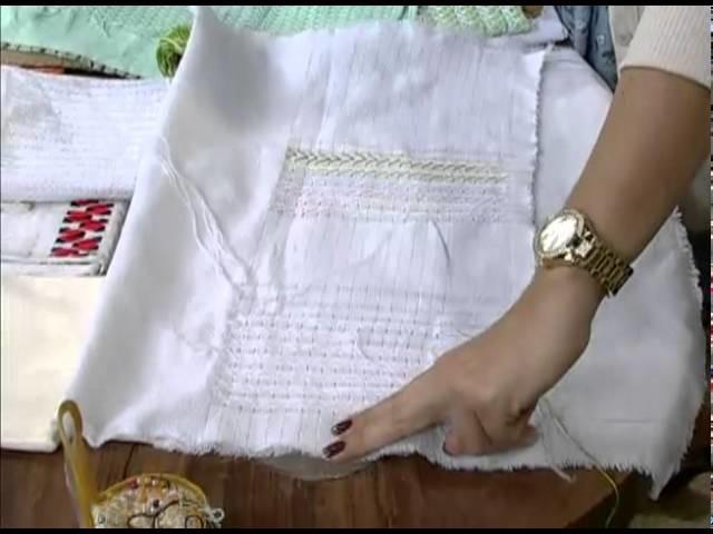 Mulher.com 29.07.2011 - Bordado