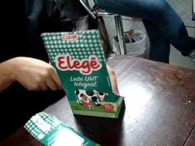 [OFF] Tutorial: Como fazer uma carteira com caixa de leite