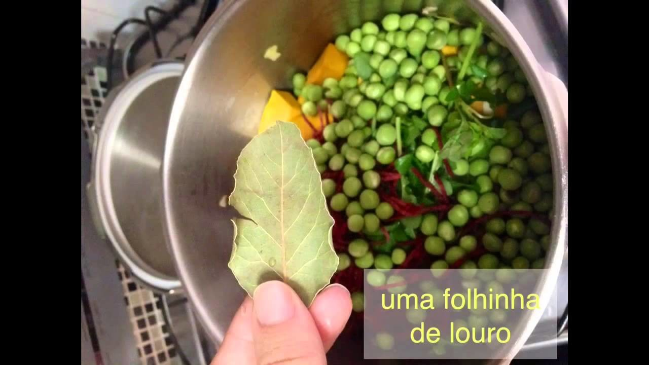 Papinha express passo a passo - Baby Food Tutorial Ingredient Blog