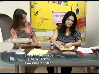 Souplat - Artesã Marisa Magalhães - Aquarela Brasil Tintas - parte 1.2