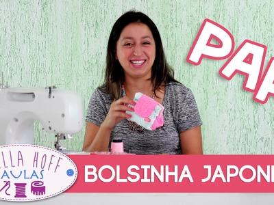 Stella Hoff Aulas - PAP -  Bolsinha Japonesa!