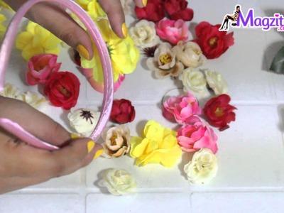 Tiara de Flores| Coroa de Flores- Especial Carnaval #especialcarnaval