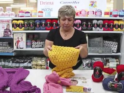 Vitória Quintal no Armarinho São José - Dicas de peças feitas com fio Cisne Todo Dia