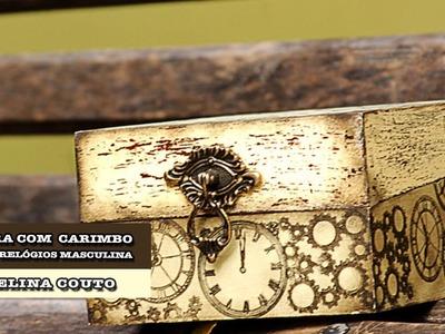 01.10.2014 - Caixa de relógios com carimbos (Angelina Couto)