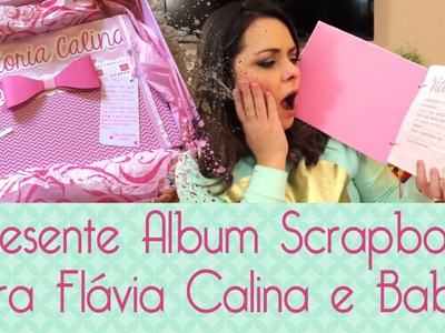 Álbum Scrapbook Flavia Calina- Scrapbook by Tamy