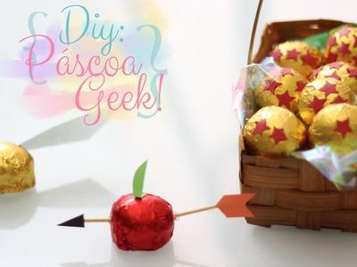 DIY de Páscoa: Embalagens geeks! Harry Potter, Jogos vorazes e Dragon Ball! (faça você mesmo)