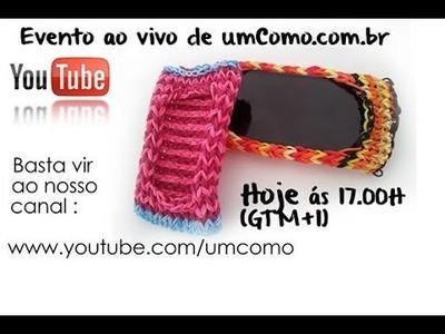 Evento ao vivo umComo! Rainbow Loom - Capa de telemóvel