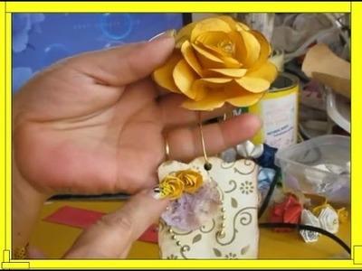 FLORZINHA DE CAIXA DE LEITE   Nane Mendes - Como fazer em detalhes Florzinha de caixa de leite
