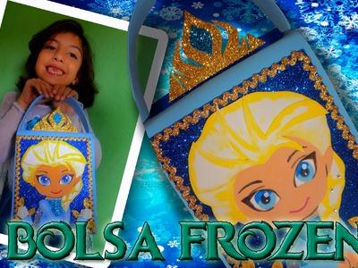 Lembrancinha Frozen - Bolsinha -  Parte 1 Aplique