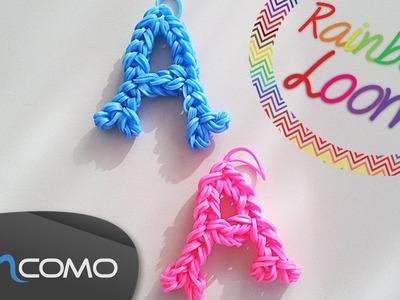 Letra A - Rainbow Loom