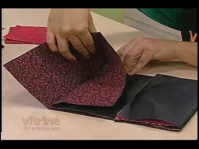 Origami em Tecido - Thais Kato - Vitrine do Artesanato na TV