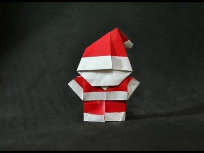 Origami: Mini Papai Noel
