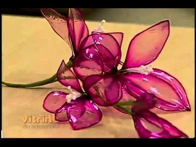 Vitriarte com Junko Miazato - Vitrine do Artesanato na TV