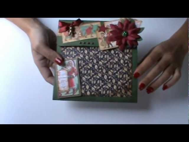 Workshop Scrapbooking - 24 de Novembro de 2012