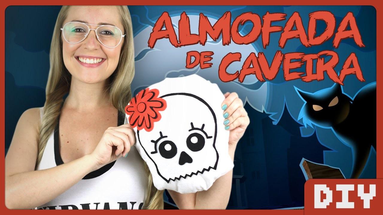 Almofada de Caveira | DiY Geek