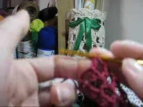 Crochet - Fios de Sedução - Calcinha (Modelo 001) - Parte 01