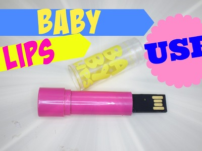 DIY ::  Baby Lips Batom Pen Drive ♥