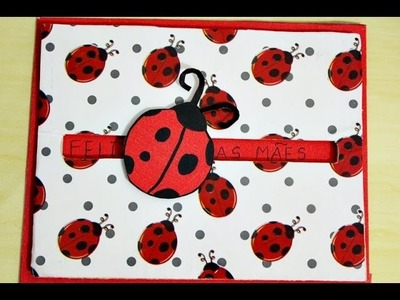 DIY ♥ Cartão Deslizante ♥ (Presente para o namorado, mãe, aniversario, natal etc. )♥