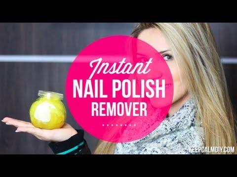 DIY: Instant Nail Polish Remover | Faça você removedor de esmalte esponja
