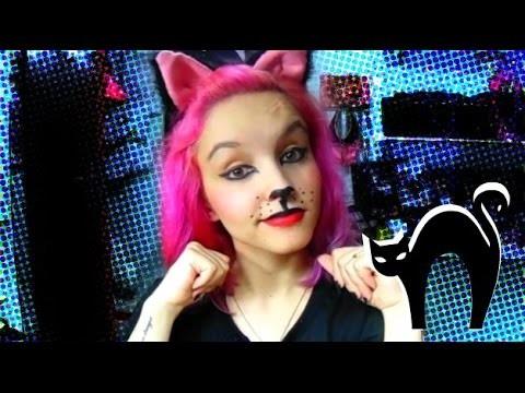 DIY - Maquiagem de Gatinho (Especial de Halloween)