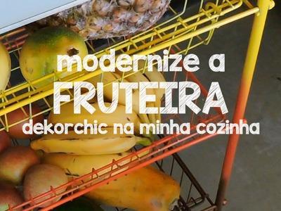 DIY :: REFORMA DE FRUTEIRA. MODERNA E COLORIDA - Decorando a cozinha