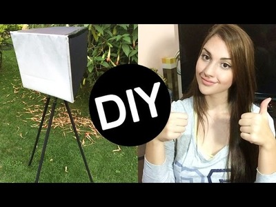 DIY - SOFTBOX + TRIPÉ CASEIROS