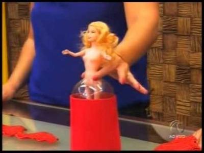 Fazendo Arte - Boneca Barbie em EVA