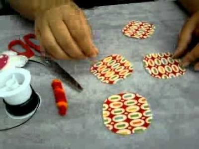 Libélula - Tecido e Croche -parte 1